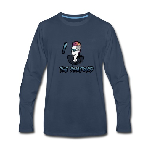 I run the shadows shadows - Men's Premium Long Sleeve T-Shirt