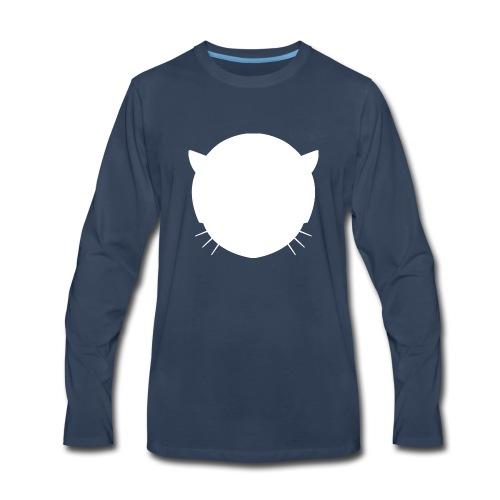 Musetta Minimal White collection - Men's Premium Long Sleeve T-Shirt