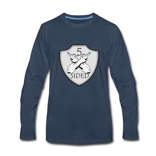 5 sided x 3 - Men's Premium Long Sleeve T-Shirt