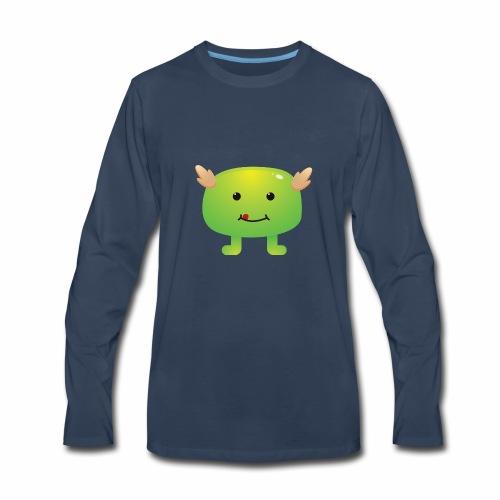 Monster Character 09 - Men's Premium Long Sleeve T-Shirt