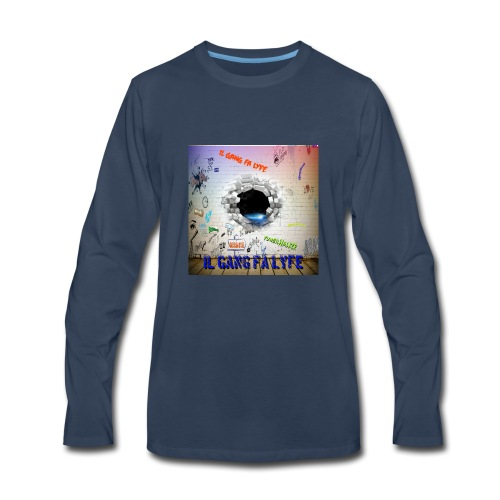 Wall demo - Men's Premium Long Sleeve T-Shirt