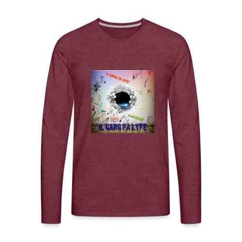 Wall demo - Men's Premium Long Sleeve T-Shirt