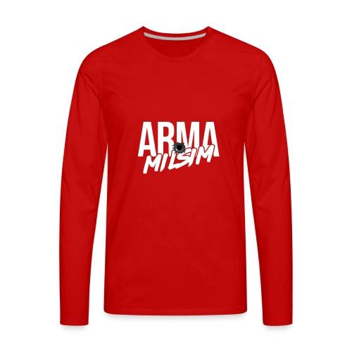 arma milsim - Men's Premium Long Sleeve T-Shirt