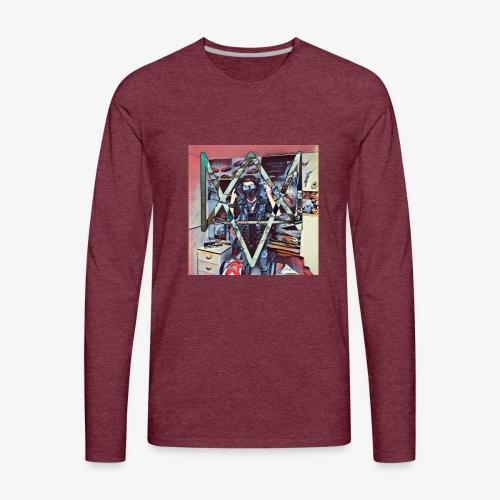 DJoe Gaming (Youtubeur Québécois) - Men's Premium Long Sleeve T-Shirt