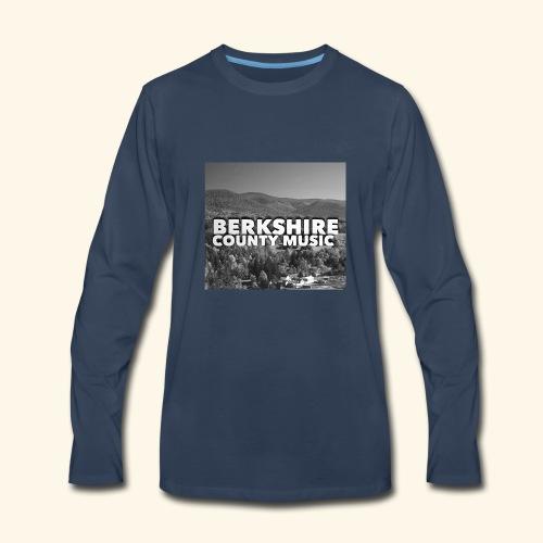 Berkshire County Music Black/White - Men's Premium Long Sleeve T-Shirt