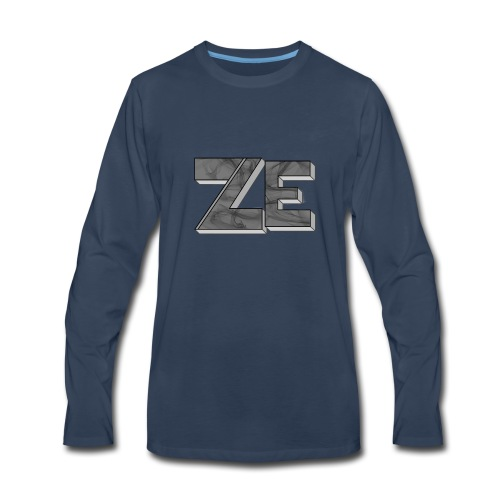Ze - Men's Premium Long Sleeve T-Shirt