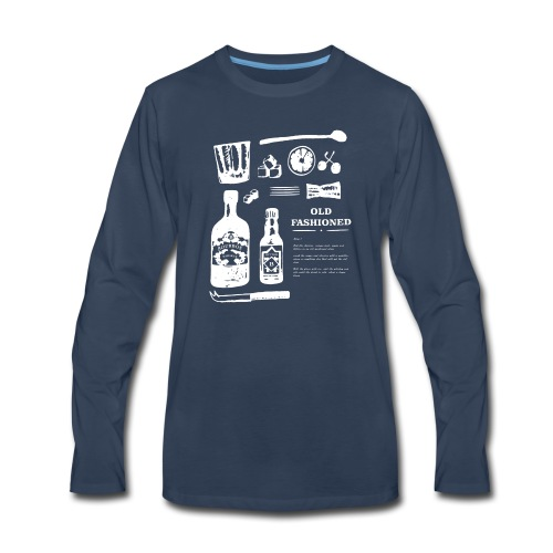 Old Fashioned - Men's Premium Long Sleeve T-Shirt