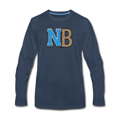 nb logo png tr - Men's Premium Long Sleeve T-Shirt
