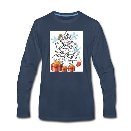 Christmas is here!! - Men's Premium Long Sleeve T-Shirt
