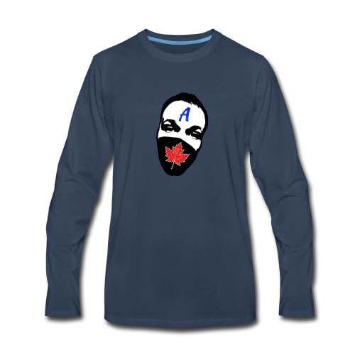 STA Logo - Men's Premium Long Sleeve T-Shirt
