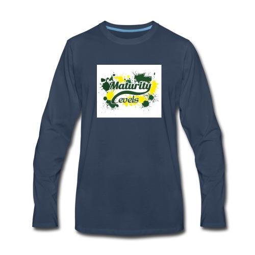 Maturity Levels Logo - Men's Premium Long Sleeve T-Shirt