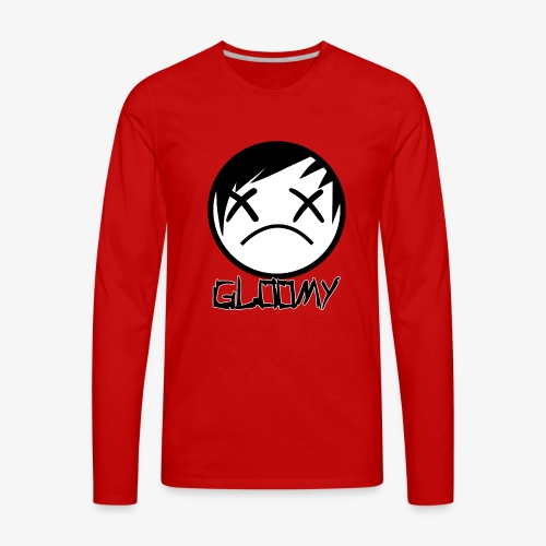 Gloomy Logo FINAL - Men's Premium Long Sleeve T-Shirt