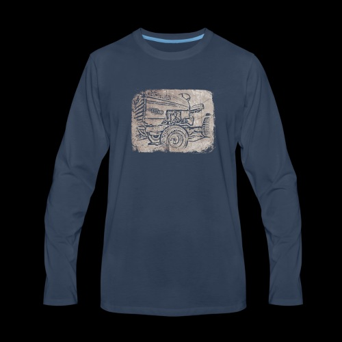 Mud Mower - Men's Premium Long Sleeve T-Shirt