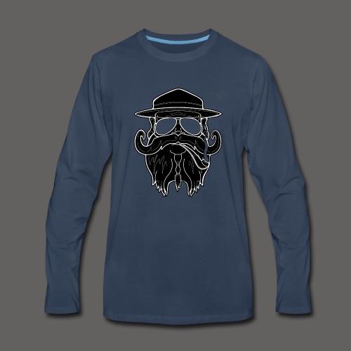OldSchoolBiker - Men's Premium Long Sleeve T-Shirt