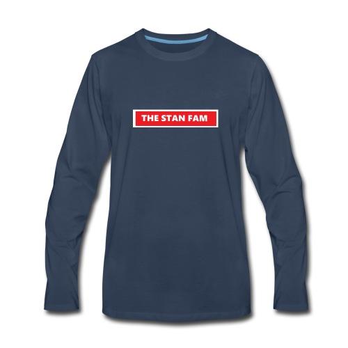 THE STAN FAM - Men's Premium Long Sleeve T-Shirt