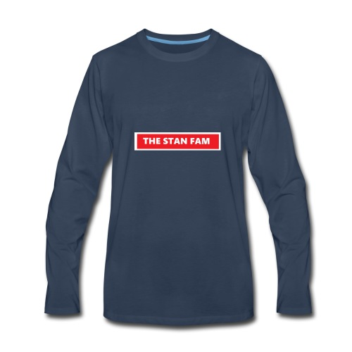 THE STAN FAM - Men's Premium Long Sleeve T-Shirt