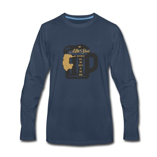 The Milk Stout Shirt - Men's Premium Long Sleeve T-Shirt