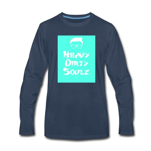 HeavyDirtySoulz Logo - Men's Premium Long Sleeve T-Shirt