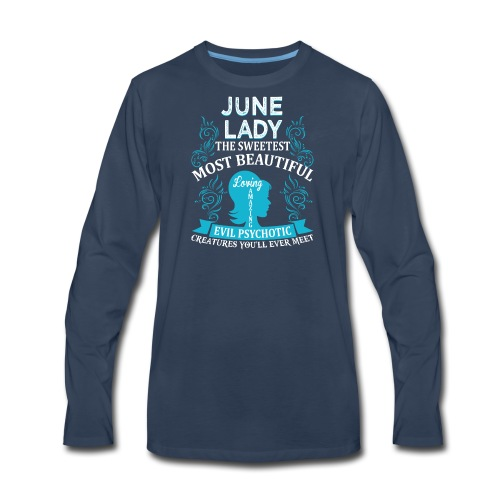 June lady - Men's Premium Long Sleeve T-Shirt