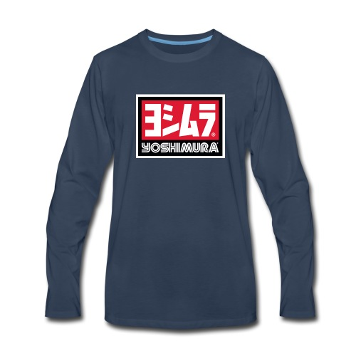 Yoshimura Logo Design - Men's Premium Long Sleeve T-Shirt