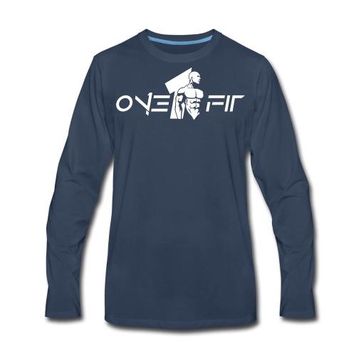 One Fit #5 - Men's Premium Long Sleeve T-Shirt