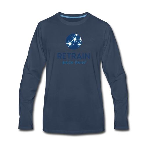 RBP Full Logo color - Men's Premium Long Sleeve T-Shirt