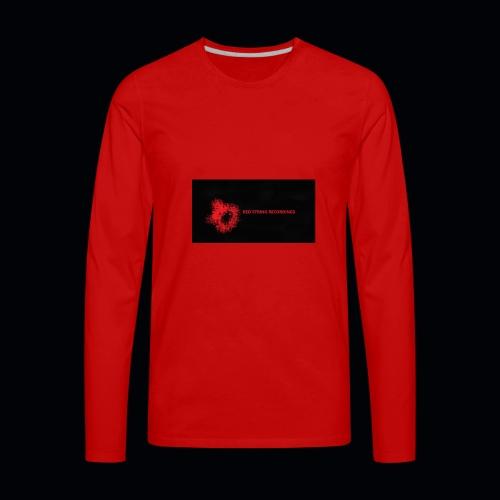 Red String Recording - Men's Premium Long Sleeve T-Shirt