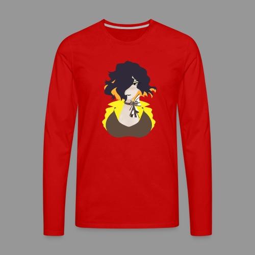 Lineless Leiur - Men's Premium Long Sleeve T-Shirt