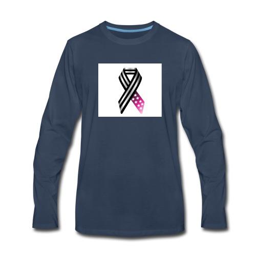 I Only Miss You When I Breathe 2 jpg - Men's Premium Long Sleeve T-Shirt