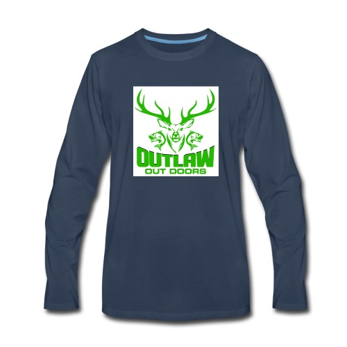 OUTLAWOUTDOORS Opt1 - Men's Premium Long Sleeve T-Shirt