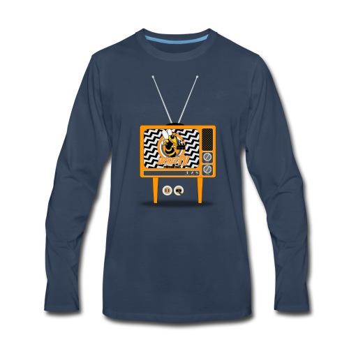 JacketTV Set - Men's Premium Long Sleeve T-Shirt