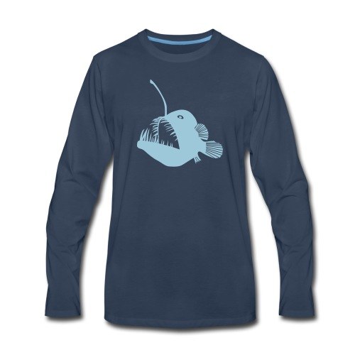 anglerfish frogfish sea devil deep sea angler - Men's Premium Long Sleeve T-Shirt