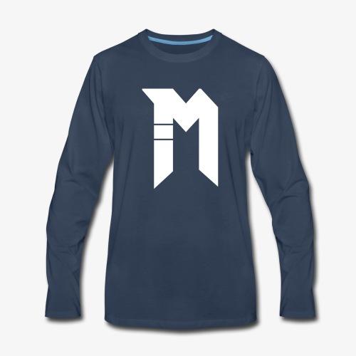 Bestsellers white logo - Men's Premium Long Sleeve T-Shirt