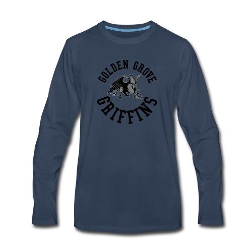 Golden Grove Griffins Color - Men's Premium Long Sleeve T-Shirt