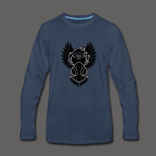 Winged Dj - Men's Premium Long Sleeve T-Shirt