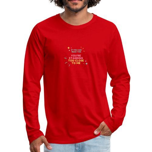 Fight Corona - Men's Premium Long Sleeve T-Shirt