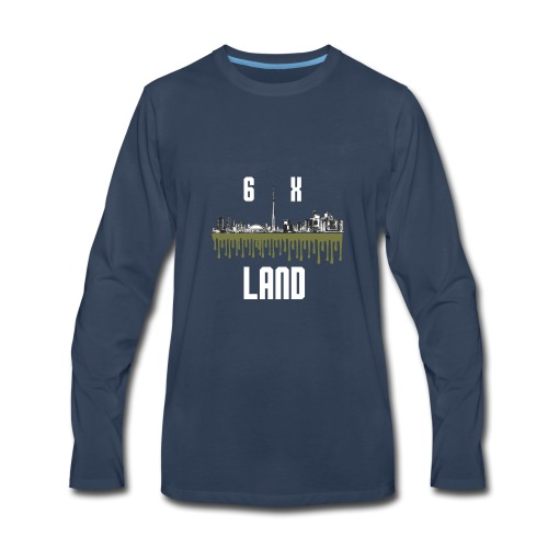 6ixland Logo - Men's Premium Long Sleeve T-Shirt