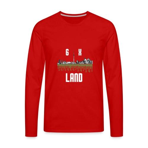6ixland Logo - Men's Premium Long Sleeve T-Shirt