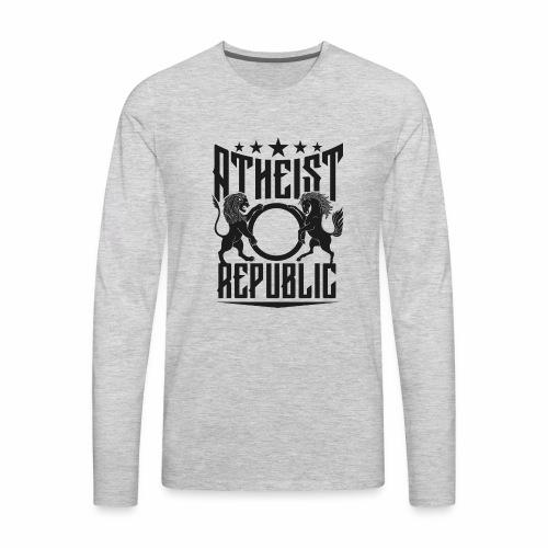Atheist Republic Starz - Men's Premium Long Sleeve T-Shirt