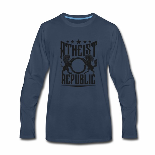 Atheist Republic Starz - Men's Premium Long Sleeve T-Shirt