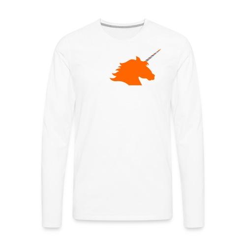 I Unicorn New York (Kristaps Porzingis) - Men's Premium Long Sleeve T-Shirt