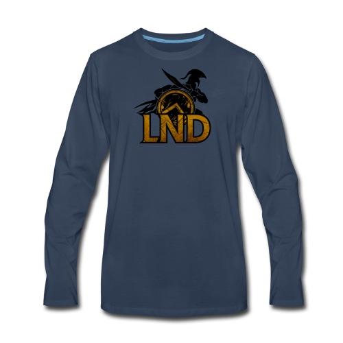 LND Logo Design - Men's Premium Long Sleeve T-Shirt