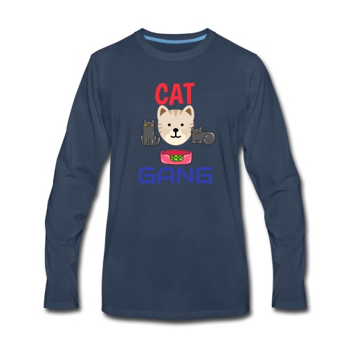 Cat Gang - Men's Premium Long Sleeve T-Shirt