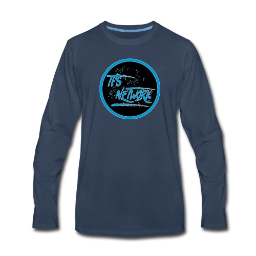TFS Network Logo - Men's Premium Long Sleeve T-Shirt
