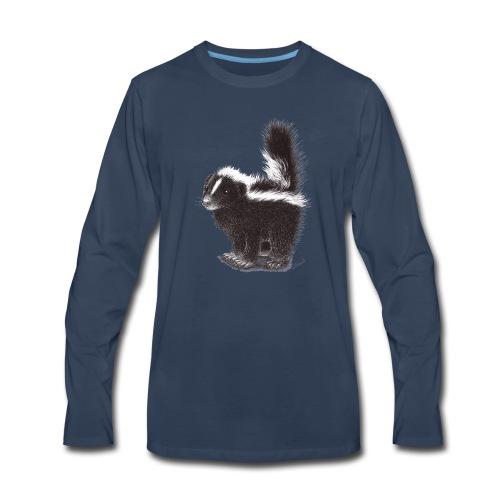 Cool cute funny Skunk - Men's Premium Long Sleeve T-Shirt