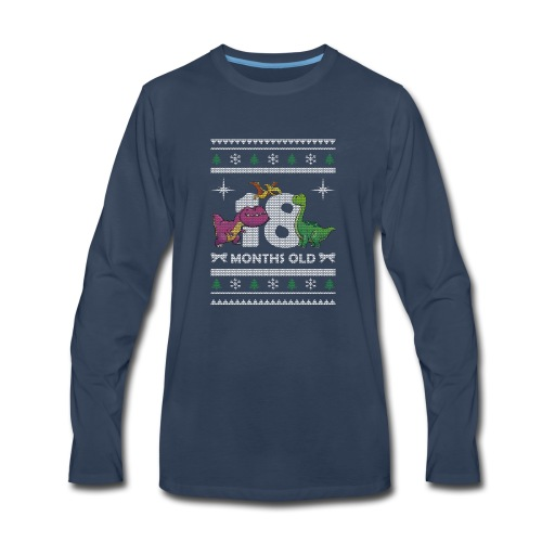 Christmas 18 months old - Men's Premium Long Sleeve T-Shirt