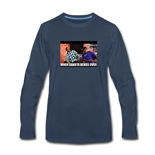 Dakotas thicc - Men's Premium Long Sleeve T-Shirt