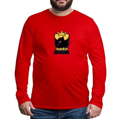 Modern xRavenPrincex Name/Logo - Men's Premium Long Sleeve T-Shirt