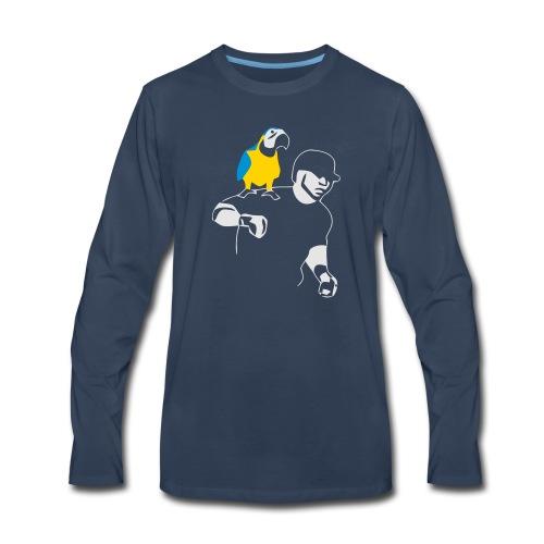 Edwing's Parrot - Men's Premium Long Sleeve T-Shirt