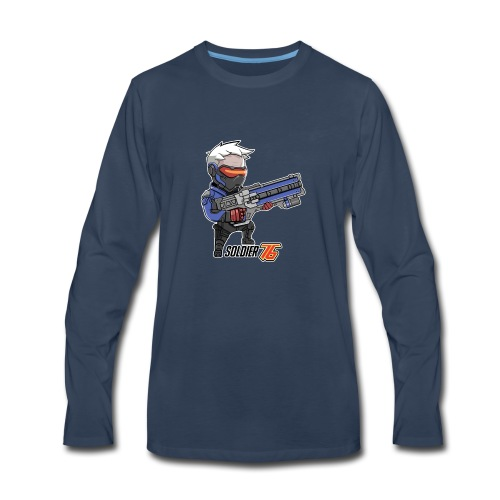 Soldier 76 - Men's Premium Long Sleeve T-Shirt